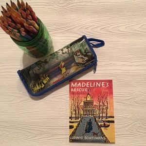 Other - Madeline's Rescue Paper back  Book & Pencil case